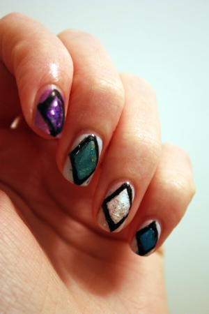 Indie nail art contest entry