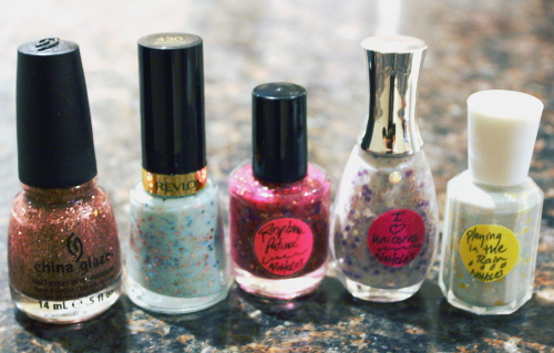 Nail Mail frankens Revlon China Glaze