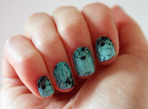 Nail Rock turquoise wraps