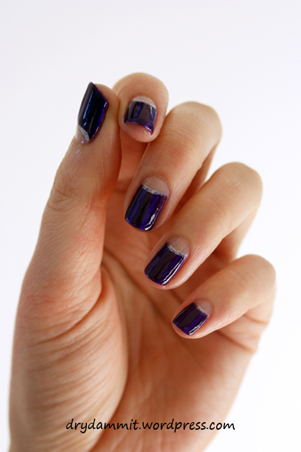 Moon manicure by Dry, Dammit!