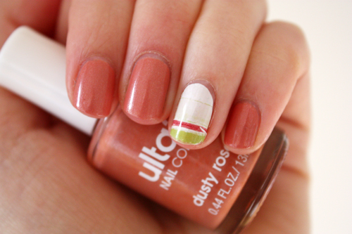 Ulta3 Dusty Rose I Heart Nail Art