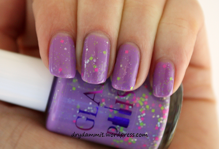Glam Polish Little Miss Naughty by Dry, Dammit!