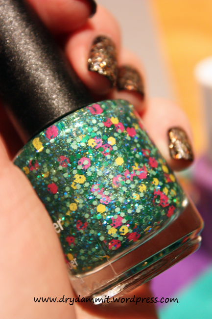 July What's In-die Box? Lilypad Lacquer I Am Miss Haughty Taughty by Dry, Dammit!