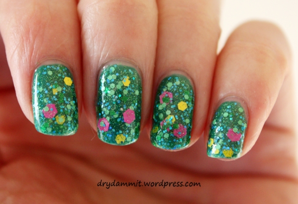 Lilypad Lacquer I Am Miss Haughty Taughty by Dry, Dammit