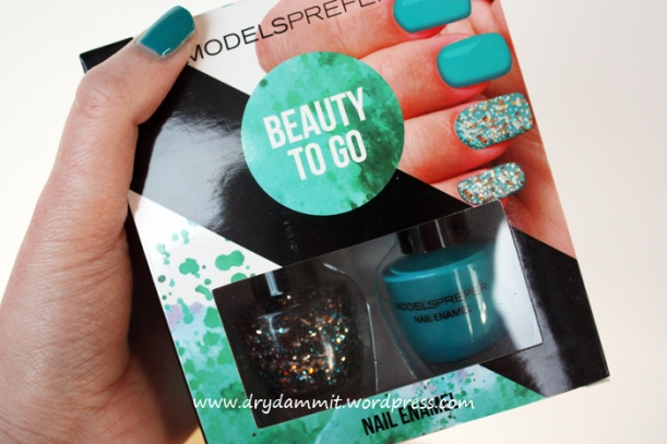 Models Prefer Beauty To Go kit in Teal Ya Later and Explosive by Dry, Dammit!