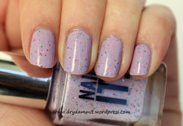 Sportsgirl Nail It! Speckled Lilac by Dry, Dammit!