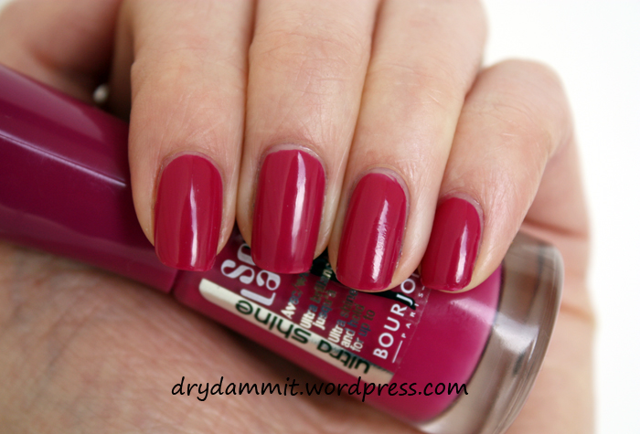 Bourjois Violet Couture by Dry, Dammit!