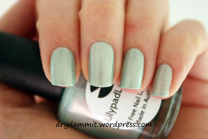 Lilypad Lacquer Vanellope by Dry, Dammit!
