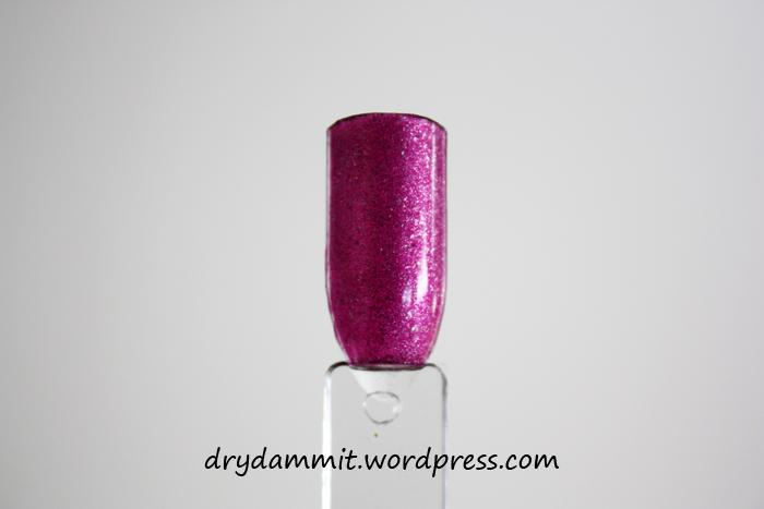 Ulta3 Glitterati Celebutant swatch by Dry, Dammit!
