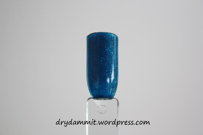 Ulta3 Glitterati Infamous swatch by Dry, Dammit!