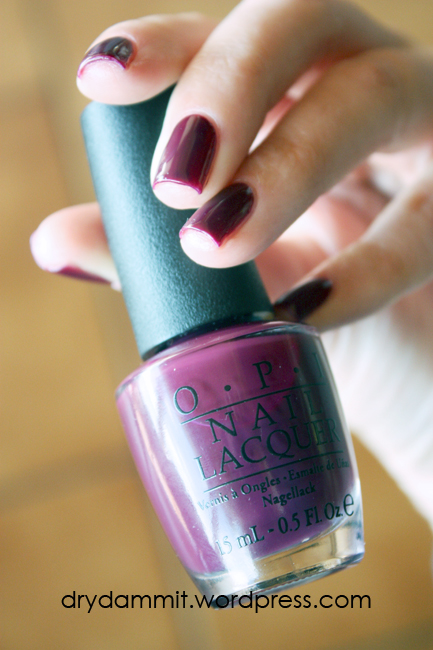 OPI In the Cable Car-Pool Lane by Dry, Dammit!