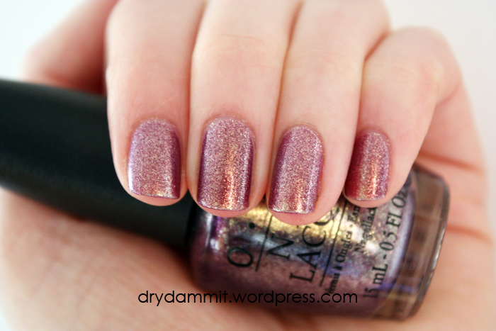 OPI It's My Year by Dry, Dammit!