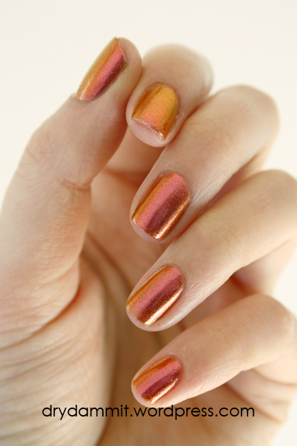Sally Hansen Lava by Dry, Dammit!