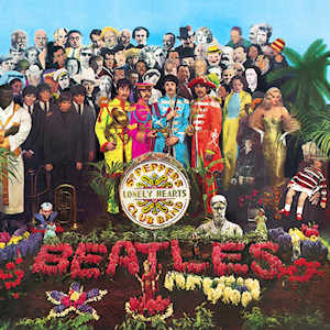 Sgt Pepper's Lonely Hearts Club Band album