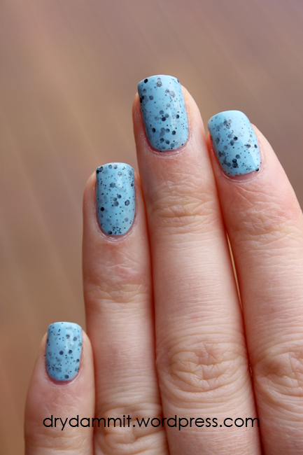 Sportsgirl Nail It! Blue by Dry, Dammit!