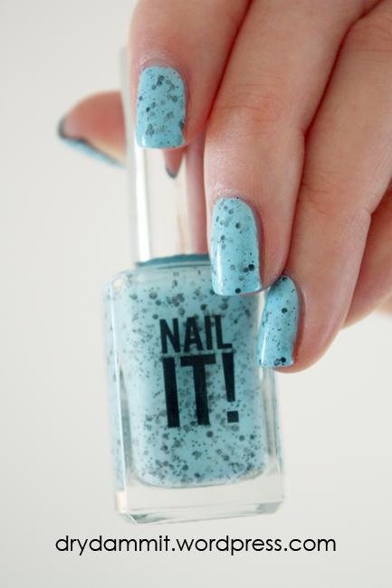 Sportsgirl Nail It! Blue by Dry, Dammit!