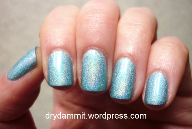 HEMA Holographic Blue by Dry, Dammit!