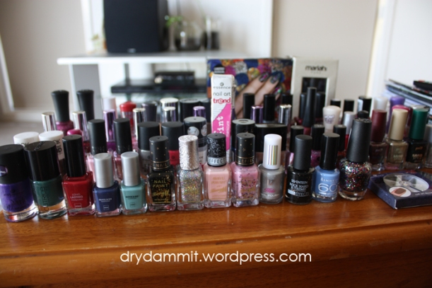 Final collection of European polishes