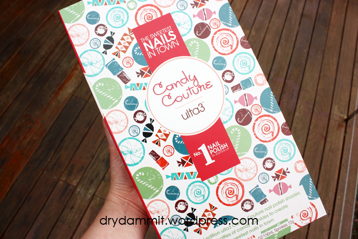 The Ulta3 Candy Couture nail book