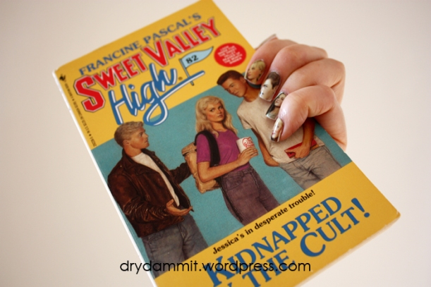 I Heart Nail Art Sweet Valley High decals by Dry, Dammit!
