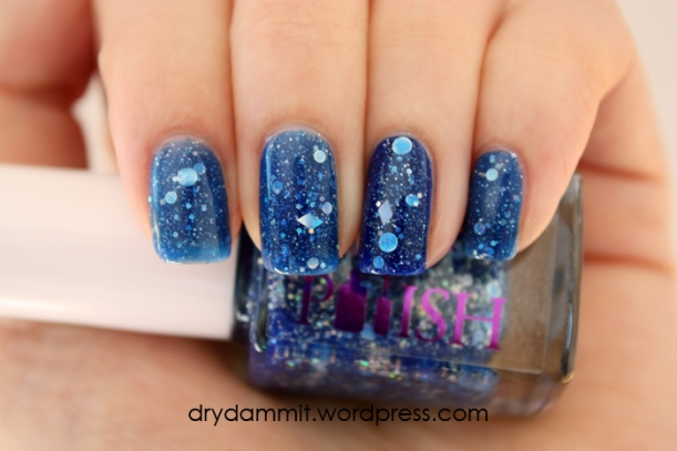 January What's In-die Box? Glam Polish The Great Gonzo! by Dry, Dammit!