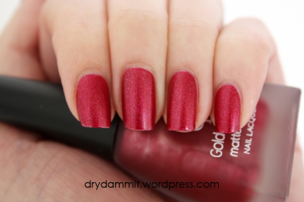 Golden Rose Matte Velvet 106 by Dry, Dammit!