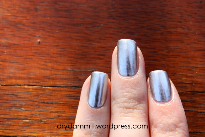 OPI Push and Shove by Dry, Dammit!