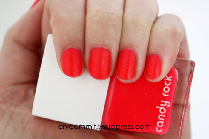 Kmart lips & tips nail polish in Big Bird & Candy Rock and feather ...