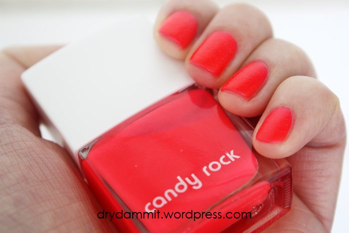 Kmart lips & tips Candy Rock by Dry, Dammit!