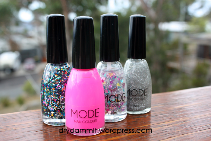 New MODE polishes swatches and review: Love Me, Pocket Rocket, Nail ...