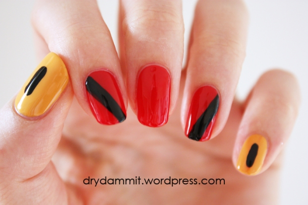 Revlon dry dammit thriller nail art by dry dammit prinsesfo Gallery