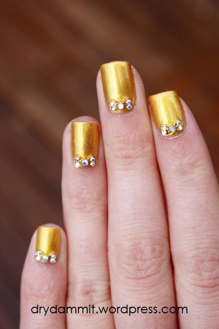 Born Pretty Store 3d Rhinestone Bow Nail Art Studs Review Dry Dammit