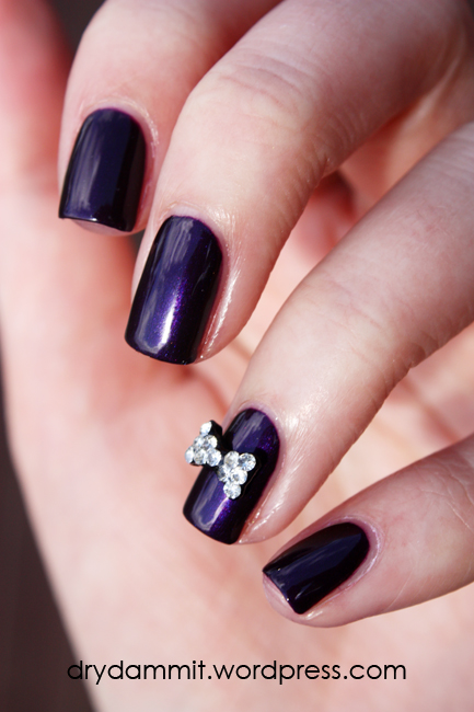 Nail art studs dry dammit born pretty store 3d rhinestone bow nail art decoration review by dry dammit prinsesfo Image collections