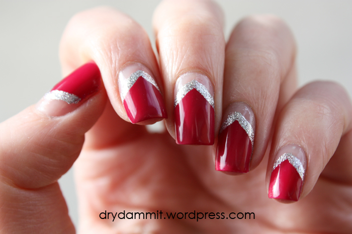 Essence be berry now inverted half moon nail art dry dammit essence be berry now half moon nail art prinsesfo Images