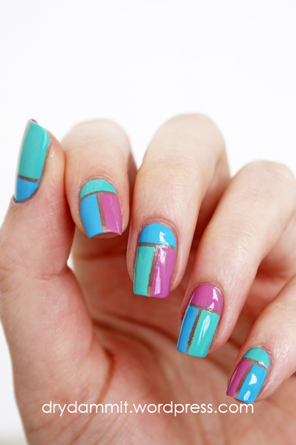 Geometric negative space nail art using essence purple sugar geometric negative space nail art by dry dammit prinsesfo Images