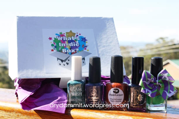 October Holo-ween What's In-die Box? by Dry, Dammit!