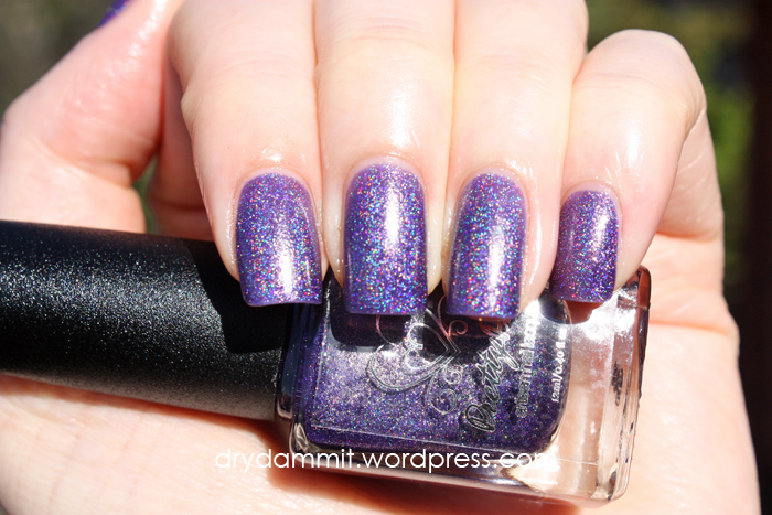 October Holo-ween What's In-die Box? Pretty Pots Polish Bewitchery by Dry, Dammit!