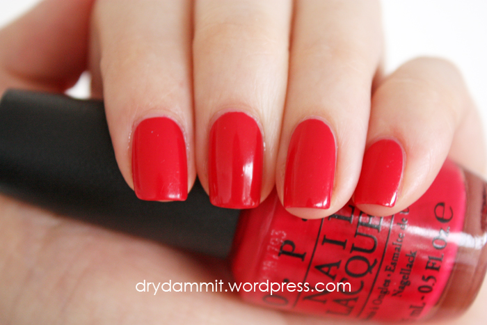 OPI Dutch Tulips by Dry, Dammit!