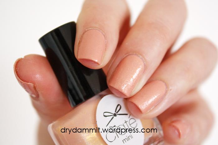 textured nail polish | Dry, Dammit!