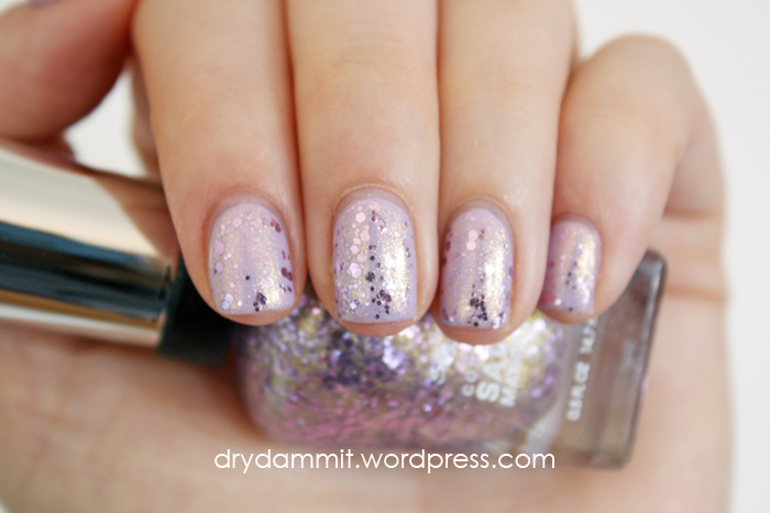 Sally Hansen Glitter Bomb by Dry, Dammit!
