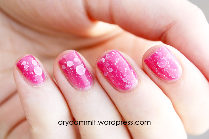 Glam Polish Bubble Berry by Dry, Dammit!