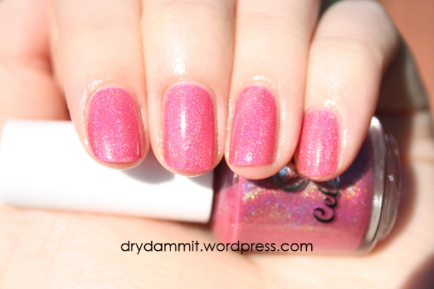 Celestial Cosmetics The Chocolate Factory Collection Candy Boat swatched by Dry, Dammit!
