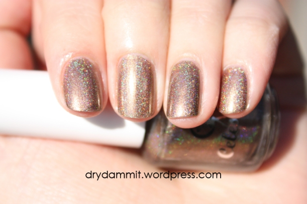 Celestial Cosmetics The Chocolate Factory Collection Chocolate River swatched by Dry, Dammit!