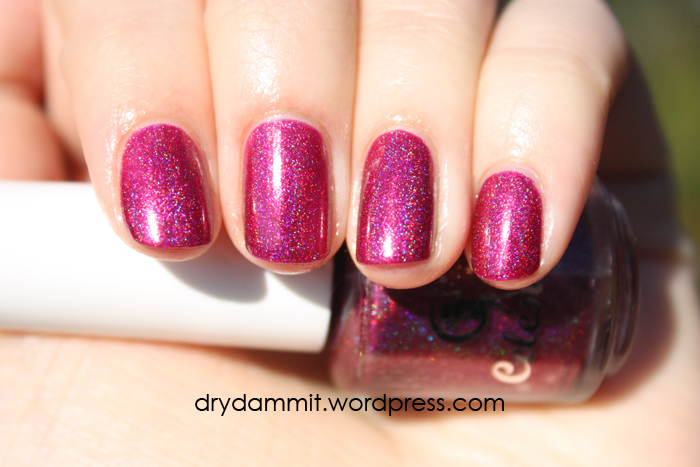 Celestial Cosmetics The Chocolate Factory Collection The Velvet Jacket swatched by Dry, Dammit!