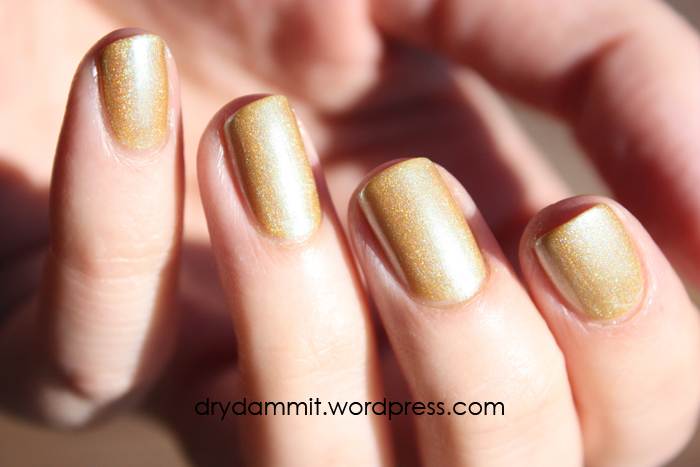 Celestial Cosmetics The Chocolate Factory Collection Winner 5/5 swatched by Dry, Dammit!