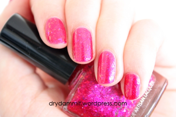 Femme Fatale Cydonia Glimmer swatched by Dry, Dammit!