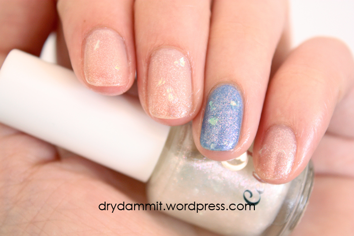 Celestial Cosmetics October LE 2015 swatched by Dry, Dammit!