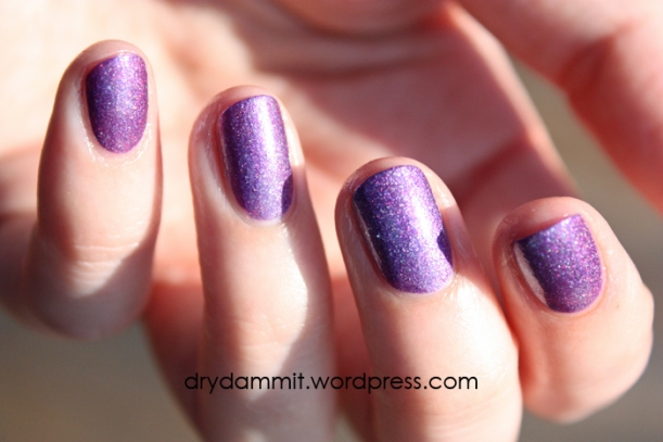 Celestial Cosmetics Witches Charm from the Witchy Duo LE swatched by Dry, Dammit!