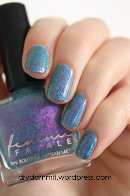 Femme Fatale Cosmetics Wonderland swatched by Dry, Dammit!