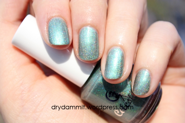 Celestial Cosmetics Bitter Tears from the Memories Collection swatched by Dry, Dammit!